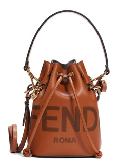 Fendi Small Mon Tresor Leather Bucket Bag