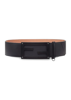 Fendi FF Logo Leather Belt