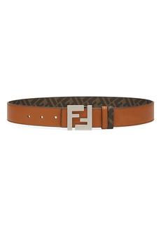 Fendi Logo Reversible Belt