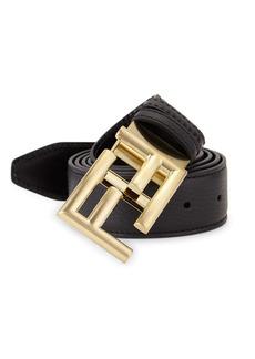 Fendi Pebble Leather Belt