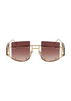 Fenty Antisocial 47MM Geometric Sunglasses