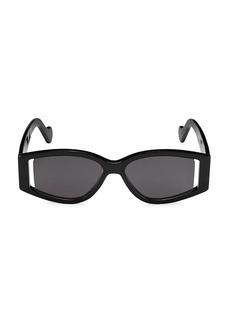 Fenty Coded 54MM Oversized Rectangular Sunglasses