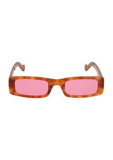 Fenty Trouble 52MM Rectangular Sunglasses