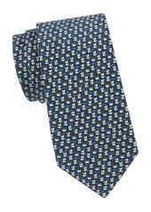 Ferragamo Bee Silk Tie