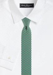 Ferragamo Bird Silk Tie