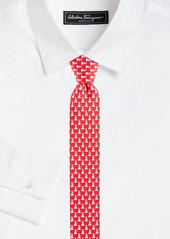 Ferragamo Dogs Silk Tie