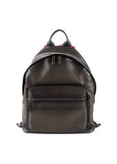 Ferragamo Fango Leather & Shearling Backpack