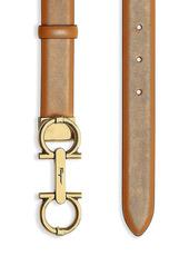 Ferragamo Gancini Leather Belt