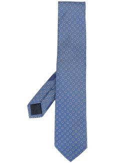 Ferragamo jacquard Gancini pattern tie