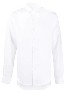 Ferragamo long-sleeve linen shirt