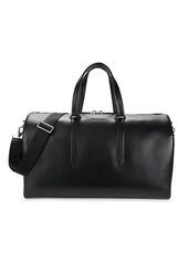 Ferragamo Outlet Riviera Leather Duffel Bag