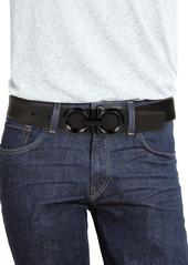 Ferragamo Reversible Leather Logo Belt