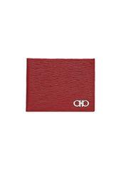 Ferragamo Revival Bi-Fold Leather Wallet