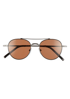 Salvatore Ferragamo 51mm Round Sunglasses
