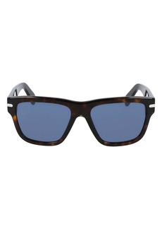 Salvatore Ferragamo 56mm Rectangular Sunglasses