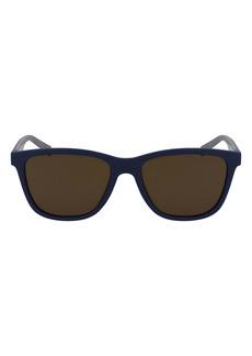 Salvatore Ferragamo 57mm Rectangular Sunglasses