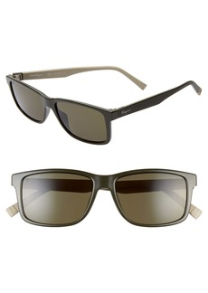 Salvatore Ferragamo 57mm Square Sunglasses