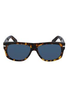 Salvatore Ferragamo 58mm Rectangle Sunglasses