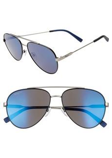 Salvatore Ferragamo 59mm Aviator Sunglasses