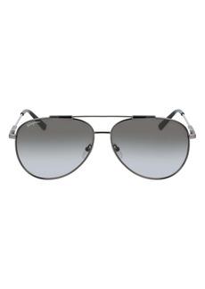 Salvatore Ferragamo 62mm Oversize Aviator Sunglasses