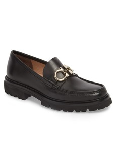 Salvatore Ferragamo Bleecker Reversible Bit Lugged Loafer (Men)