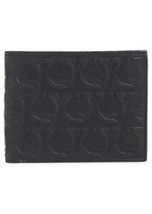 Salvatore Ferragamo Debossed Leather Wallet