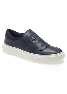 Salvatore Ferragamo Double Gancio Slip-On Sneaker (Men)