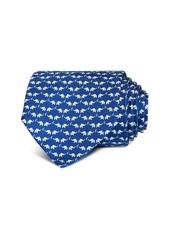 Salvatore Ferragamo Elephant Silk Classic Tie