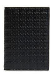 Salvatore Ferragamo Gancini Leather Card Case