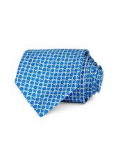 Salvatore Ferragamo Gancini Silk Classic Necktie