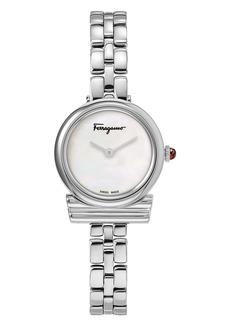 Salvatore Ferragamo Gancio Bracelet Watch, 22mm