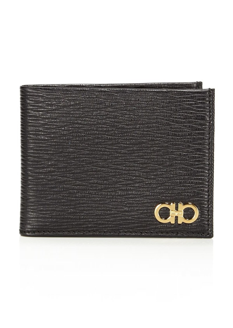 Salvatore Ferragamo Revival Leather Bifold Wallet
