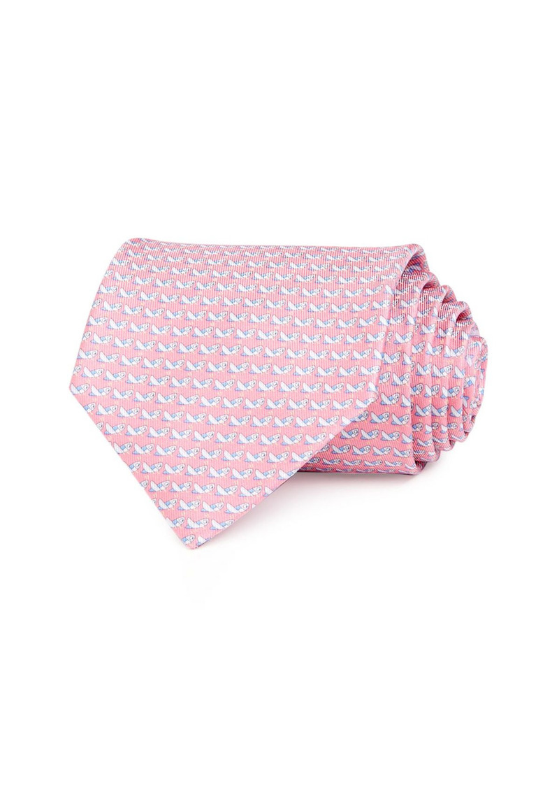 Salvatore Ferragamo Grasshopper Silk Classic Tie