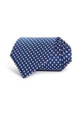 Salvatore Ferragamo Lalla Strawberry Silk Classic Tie