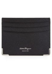 Salvatore Ferragamo Leather Card Case