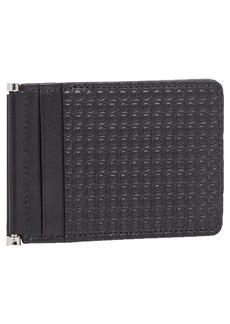 Salvatore Ferragamo Mini Gancini Leather Folding Card Case