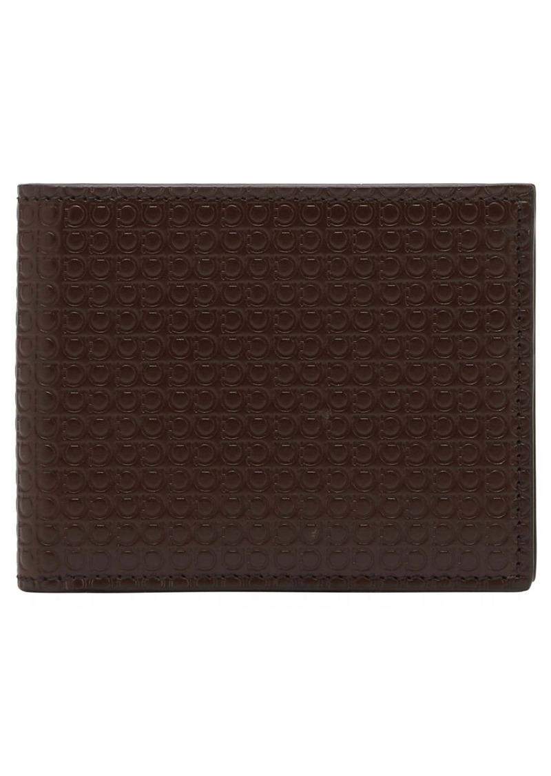 Salvatore Ferragamo Mini Gancio Leather Wallet