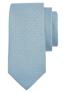 Salvatore Ferragamo Penguin Print Silk Tie