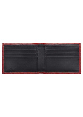 Salvatore Ferragamo Revival Double Gancio Bicolor Leather Wallet