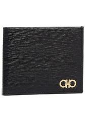 Salvatore Ferragamo Revival Double Gancio Leather Bifold Wallet