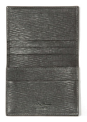 Salvatore Ferragamo Revival Leather Folding Card Case
