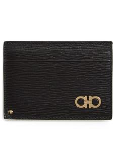 Salvatore Ferragamo Revival Leather Card Case