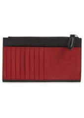 Salvatore Ferragamo Revival Leather Zip Wallet
