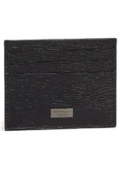 Salvatore Ferragamo Revival Textured Leather Card Case