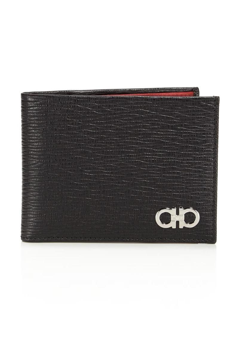 Salvatore Ferragamo Revival Leather Bifold Wallet