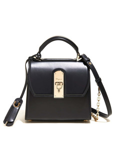 Salvatore Ferragamo Small Boxyz Leather Satchel