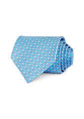 Salvatore Ferragamo Snail Love Silk Classic Necktie