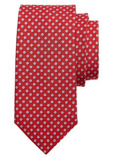 Salvatore Ferragamo Soccer Print Silk Tie