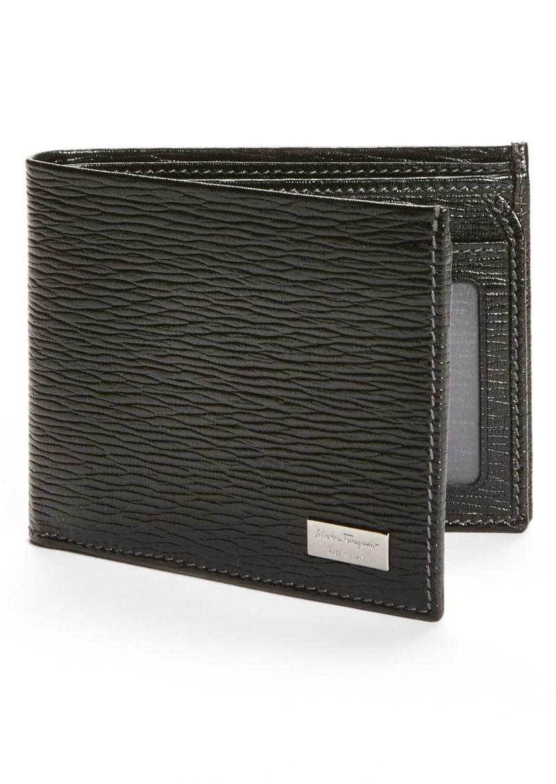 Salvatore Ferragamo Stamped Calf Wallet