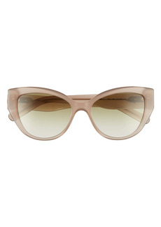 Salvatore Ferragamo Vara 54mm Cat Eye Sunglasses